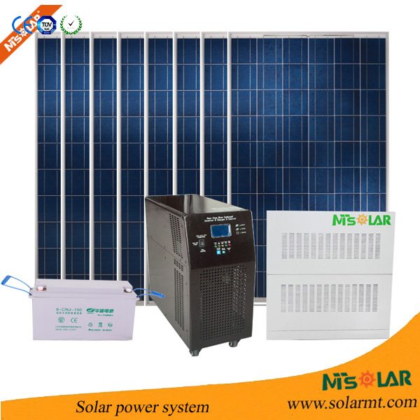 complete set solar panel system for home 10KW 15KW / china supplier 6KW 8kw solar power system / solar genertator manufacturer