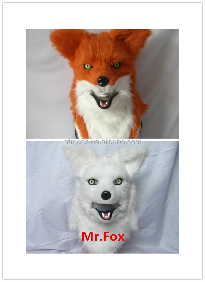 nimble mouth wolf mask/ furry mask /realistic animal party mask