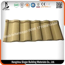 Colorful Stone Coated Metal Roofing Tile/ Ruser Roof System