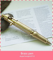 high class luxury brass pen