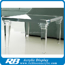 clear color acrylic table acrylic coffee table