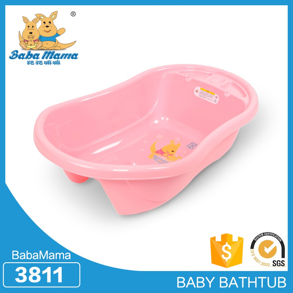 Proper price top quality folding plastic bathtub for baby