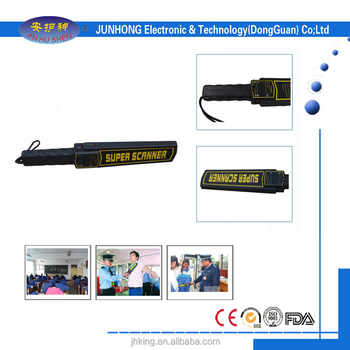 New arrival Super scanner handheld metal detector with high sensitivity