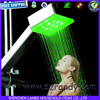 1 pc Free shipping Green Color Square bathroom led shower floor lights 8008-A4