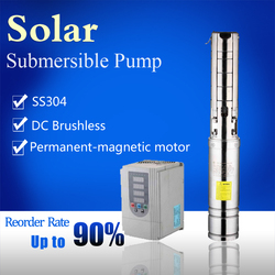 Hot item solar water pump dc motor made in china