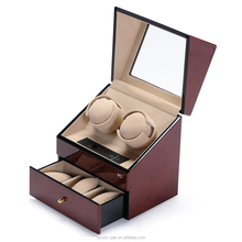 Top quality automatic leather watch winder box wholesale