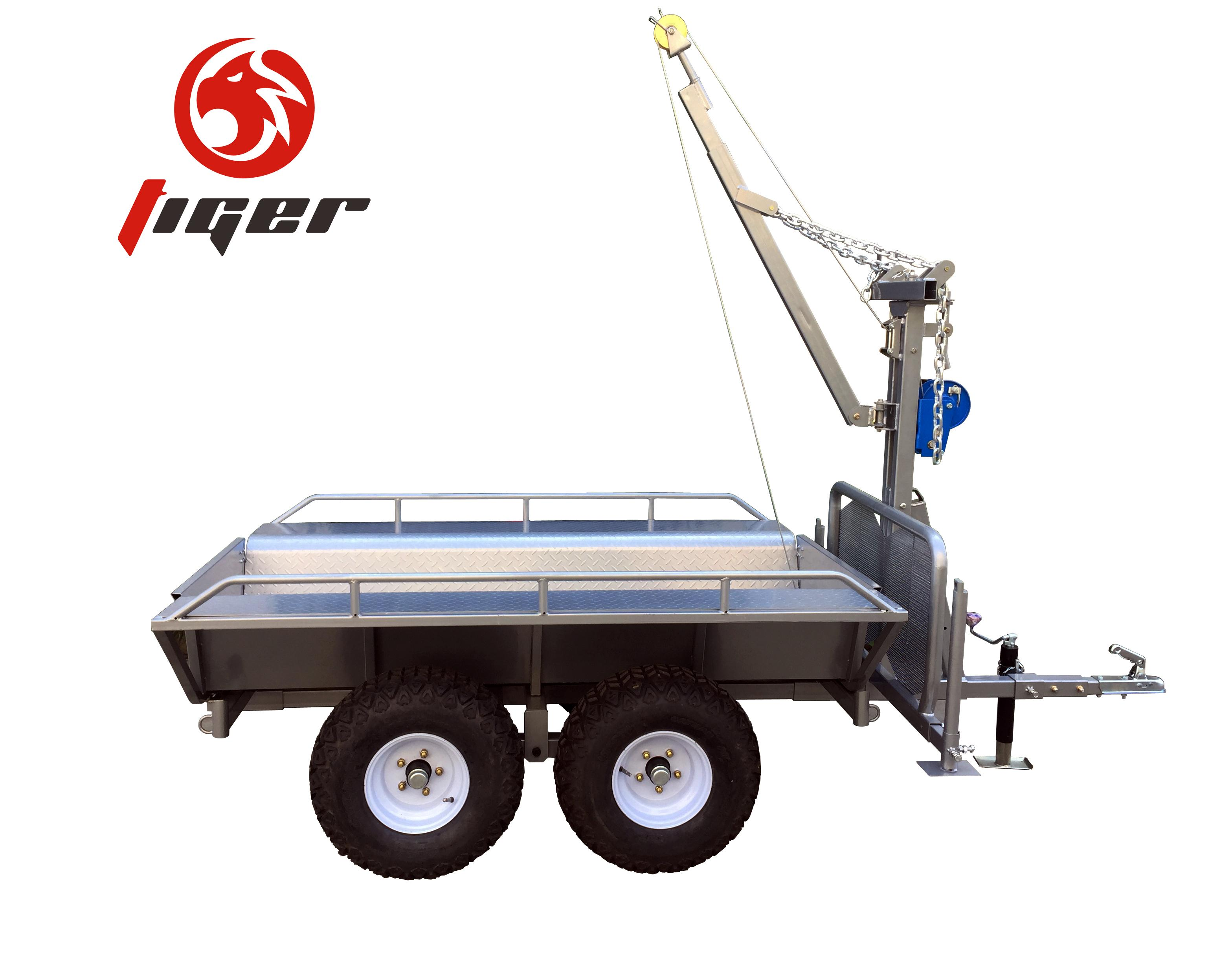 China cheap small box trailers for sale with best price