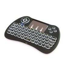 Superb H9 Silicon keys Plastic Shell Rechargable Lithium ion Battery drivers usb mini keyboard