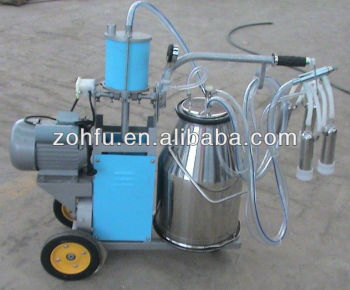 mobile milking machine/ portable cow milking machine,milk trolley