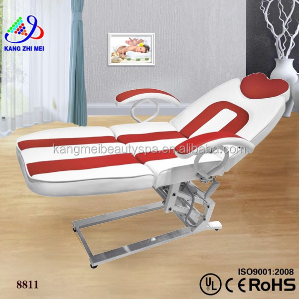 Top thai sex body and portable massage bed/supersonic tanning bed beauty equipment/treatment chair facial bed KM-8811