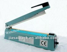 plastic impulse hand sealer/injection parts SF200I tea bag packing machine