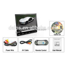 Motorized flip-down car monitor car dvd player 9 inch lcd touch screen monitor
