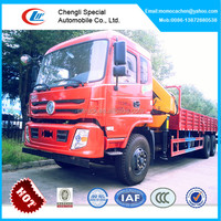 10 ton knuckle boom truck mounted crane,articulated boom crane,folding boom truck crane