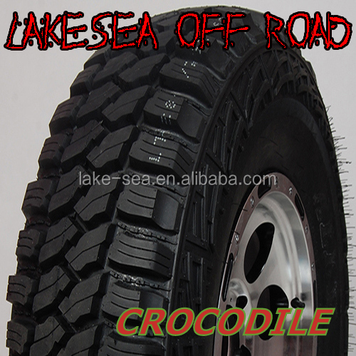 Crocodile tire 33X12.5R20 Mud Terrain tire for Offroad use LAKESEA brand