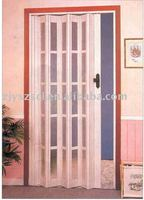 pvc folding door and accordition door for interior room