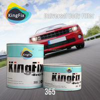 audited supplier yellow color low smell cheap car body filler