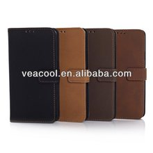 Luxury Matte Leather Business Book Case Cover For Samsung galaxy S5 i9600 Case