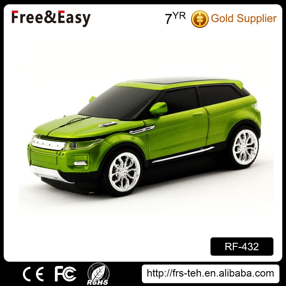 Personalized 2.4ghz racing wireless car jeep mouse