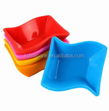 special style silicone sushi plate,cute silicone bowl,BPA free silicone plate