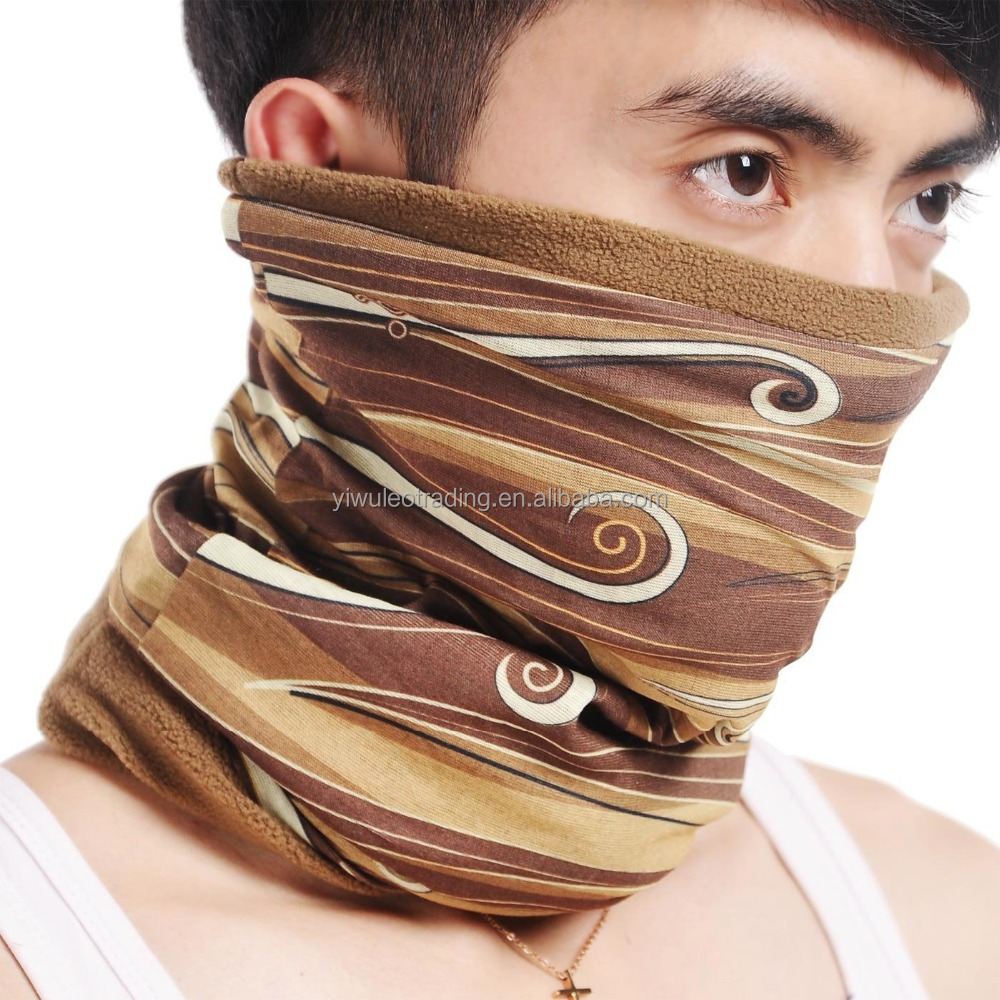 Wholesale Cheap Sublimation Printed Multifunctional Seamless Tube Bandana winter face bandanas