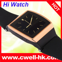 2014 latest wrist watch mobile phone with Bluetooth Sync Function FM Camera