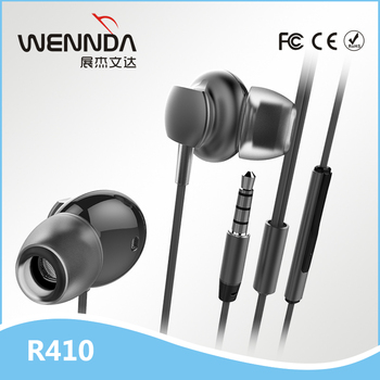 2017 Newest popular in-ear earbuds with mic for apple earpods