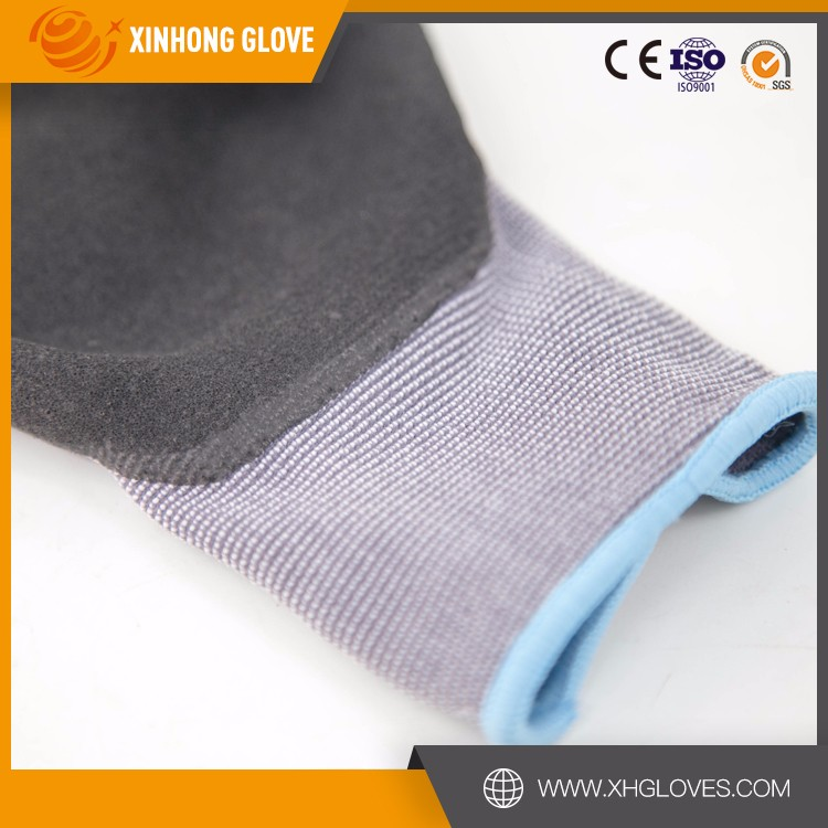 Cheap nitrile coat safety working gloves importers in usa