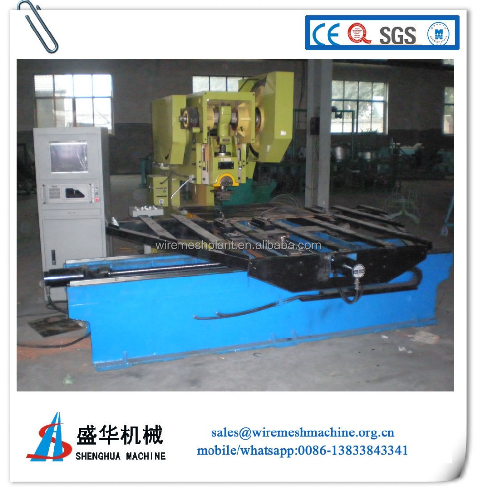 high speed perforated metal mesh panel welding machine manufacture