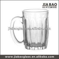 330ml cold beer mugs,decorative beer mug, cheap glass mug GB094212XC
