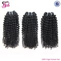 mongolian kinky curly human hair extensions