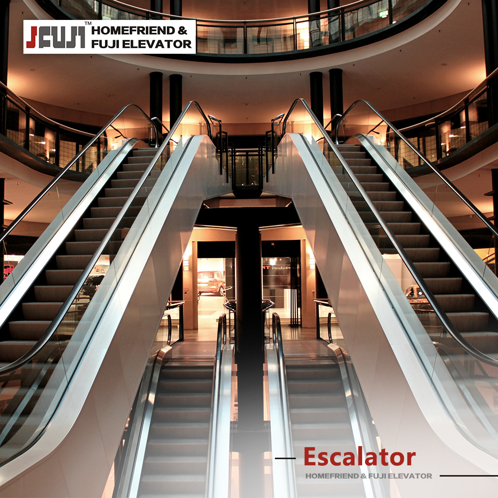 ISO CE VVVF 30/35 degrees 0.45/0.5 m/s safety and durable for escalator price | escalator cost