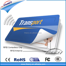 Customized high quality plastic pvc RFID hotel key card with chip
