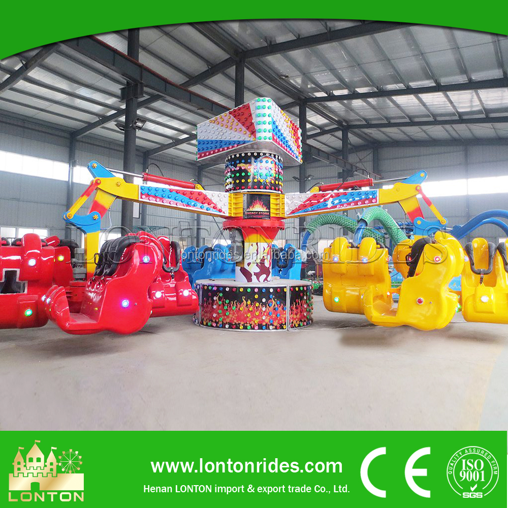 Chinese Big Park Ride Factory Price Adult Energy Claw Amusement Machine