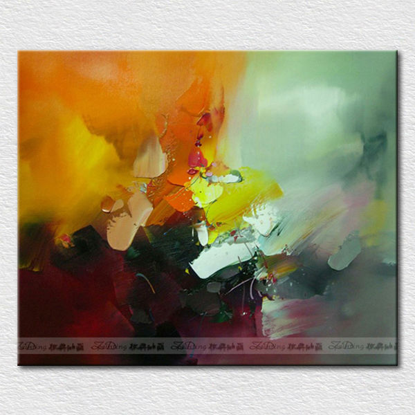 Canvas picture color easy abstract paintings for hotel room <strong>decoration</strong>