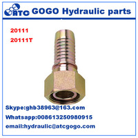 Metric Female Multiseal Hydraulic Hose Pipe Fittings 20111-24-08T