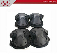 4pcs/set Recuse military knee&elbow Extreme Sports Safety BMX SWAT X-type Protective Gear Elbow Support Knee Pads For rescue use