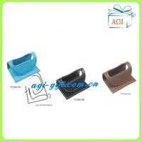 new design leather mobile phone holder mobile phone stand
