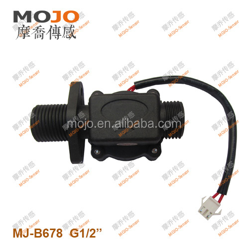 MJ-B678 <strong>G1</strong>/2' cooper material water flow sensor baffle style flowswitch with 10% accuracy for water circulation Flow Switch
