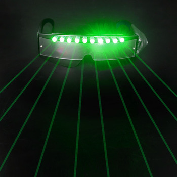 2019 hot sell Glow in the Dark Glasses Event Party Supplies Light Up Glasses Led laser Glasses for stage