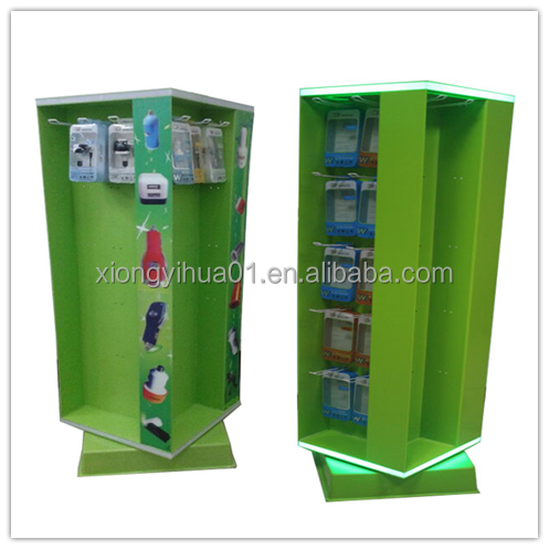 Accessories retail store display/cellphone accessories display rack/mobile accessories display stand