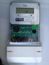 Three phase four wire electrical digital multi function transparent LONG cover energy meter