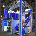 China supplier aluminum trade show booth Custom Design Double Deck Exhibition Booth