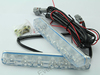 new product daylight 6 LED 6W Universal Car Led Light Daytime Running Auto Lamp DRL Auxiliary Light,hiway auto drl