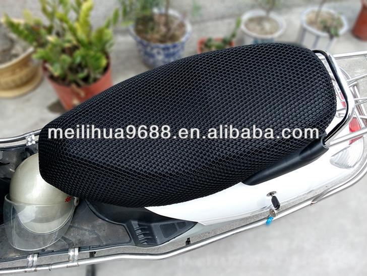 Large Size Black Breathable Waterproof Durable Motorcycle Seat Cover