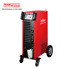 TOPWELL multifunctional pulse arc tig mma welding machine with heavy duty MASTERTIG-400CT