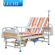 Cheap price metal hospital bed patients home care 3 functions nursing home beds