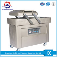 Automatic small household table double chamber vacuum sealer/packaging machine for sea food/salted meat/dry fish/pork/beef/rice