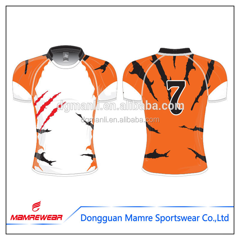 Design your own league jersey rugby,jersey football wear uniform rugby shirts clothing
