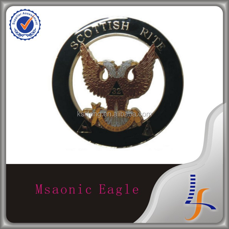 Nice quality 32nd eagle car emblem