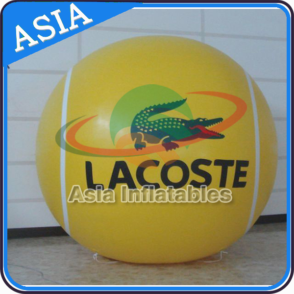 Customized Giant Helium Inflatable Giant Tennis Balloon Advertising, Large Helium Sport Balloons for Party